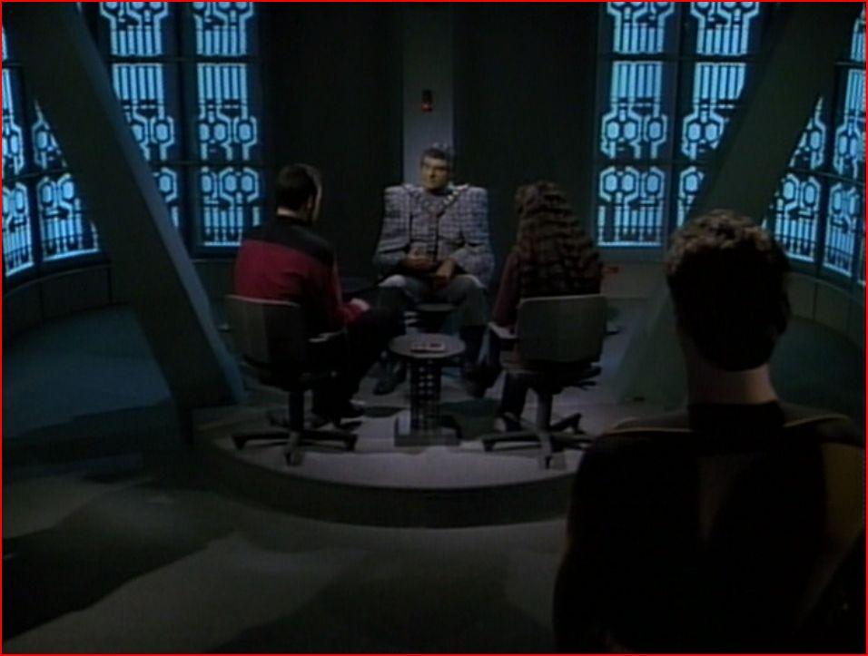 Star Trek:TNG Episode Review - The Defector (3/5)
