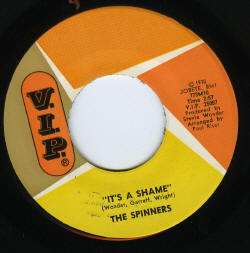 It's A Shame - The Spinners 45