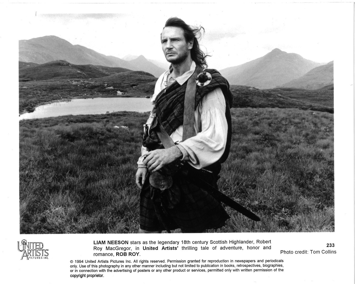 Highlander Quotes Rob Roy The Rut Of The Sword Part 1  It Rainsyou Get Wet