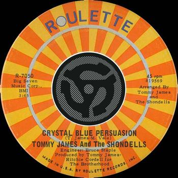 One For The Dance Floor Crystal Blue Persuasion By Tommy James