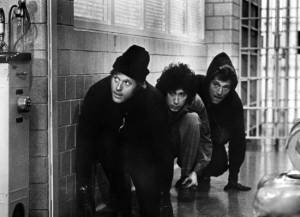 From left: Robert Redford, Paul Sand, & George Segal in Peter Ya