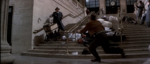 Untouchables Train Station Shoot-out