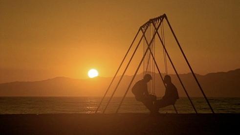 tequila sunrise - beach