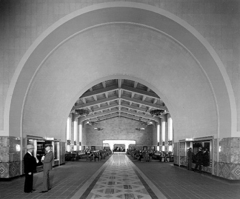 arch Union Station Los Angeles 1939