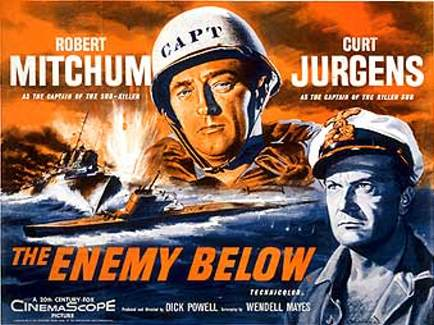 the enemy below essay The enemy below is a 1957 deluxe color war film in cinemascope, which tells  the story of the battle between the captain of an american destroyer escort and.