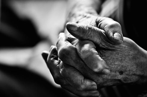 abuela's hand