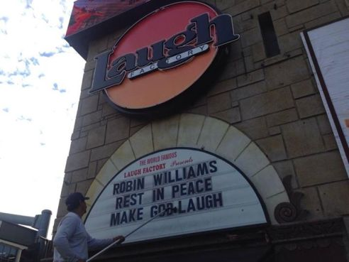 Laugh Factory Robin Willaims