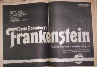 cronenberg frankenstein
