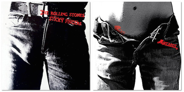 Best Album Covers Sticky Fingers It Rains You Get Wet