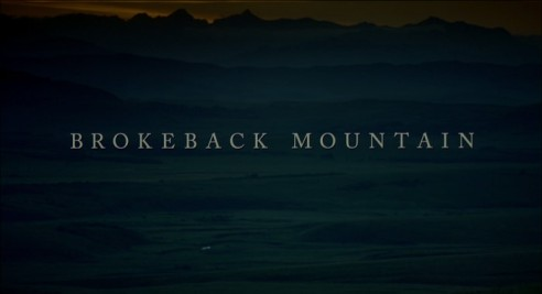 title brokeback mountain
