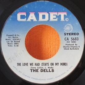 The Dells - CA 5683 The Love We Had