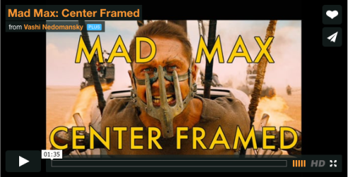 mad max - center framed