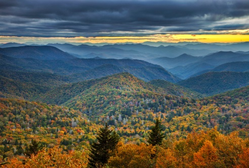 Fall_Cullowhee_Sunset_905