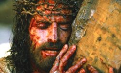 Thorn again … Jim Caviezel as Jesus in Mel Gibson's The Passion of the Christ (2004).